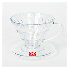 Hario Coffee Dripper V60 Clear